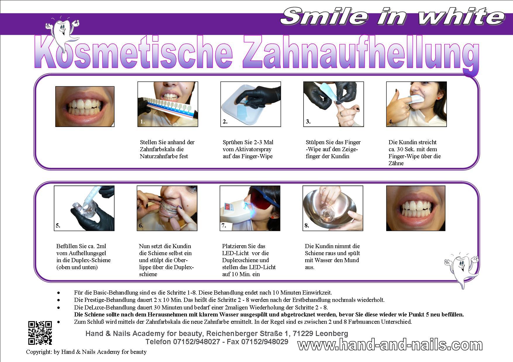 anleitung Kosmetische Zahnaufhellung